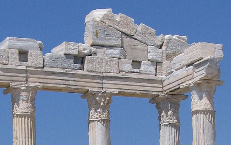 Image of Apollo tempel in Side Turkey