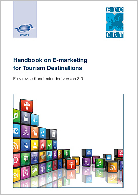 Cover of UNWTO-ETC Handbook on E-marketing for Tourism Destinations 2014