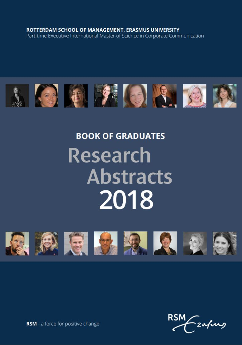 CCC RSM Book of Research Abstracts 2018